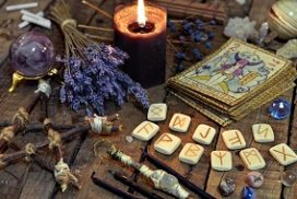 runes and incense
